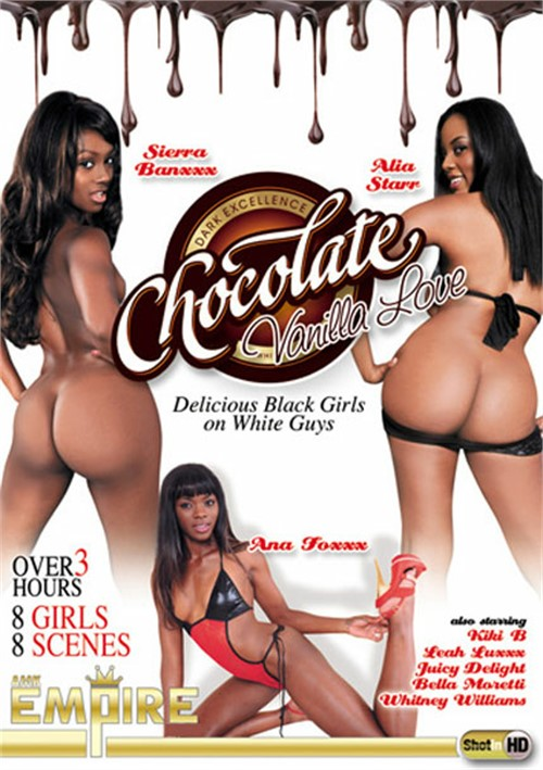 Chocolate black girl interracial porn