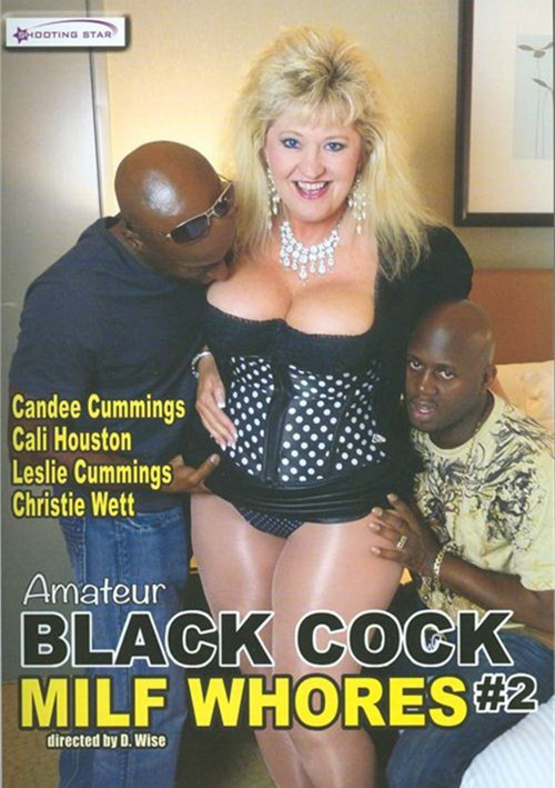 Amateur blonde milf and black cock