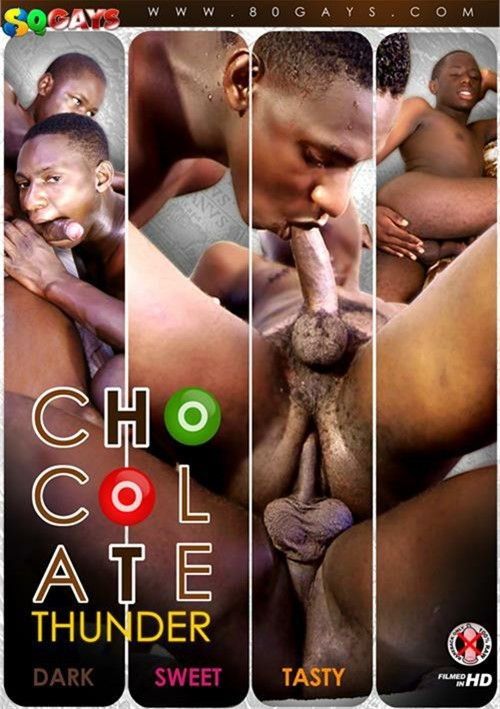 Chocolate gays anal pleasure