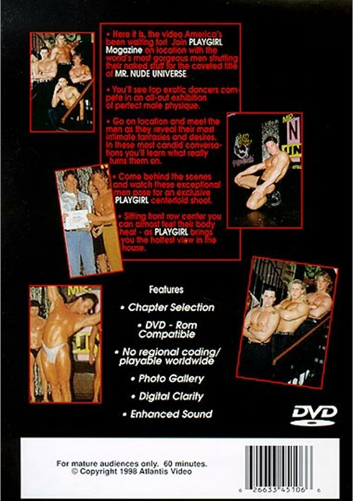 Playgirl: Mr. Nude Universe Boxcover