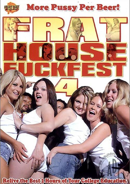 Frat House Fuckfest 4 Boxcover