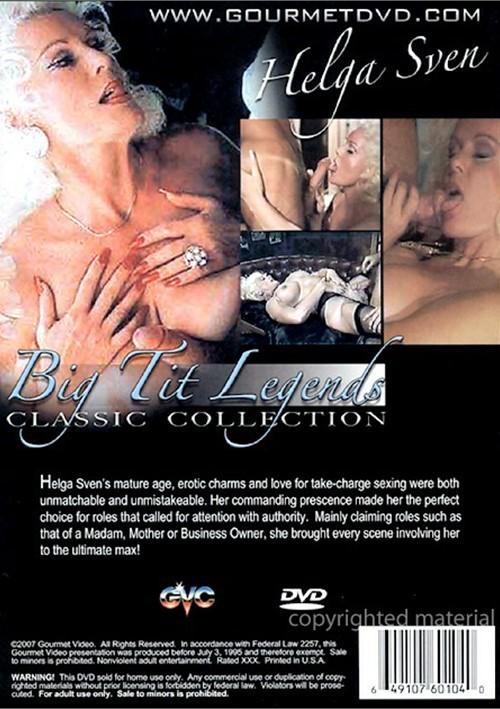 Classic Big Tit Legends: Helga Sven Boxcover