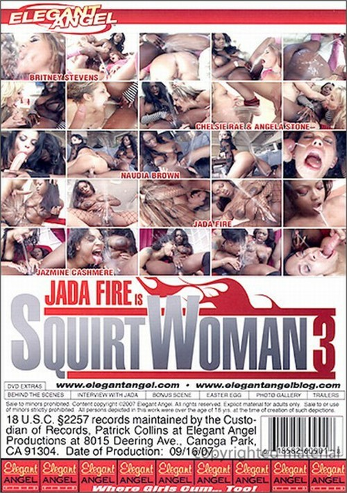 Jada Fire is Squirt Woman 3