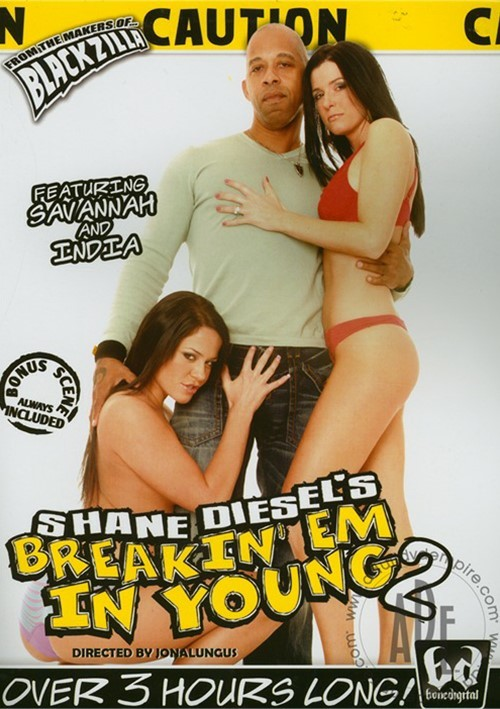Shane Diesel's Breakin' Em In Young 2 Boxcover