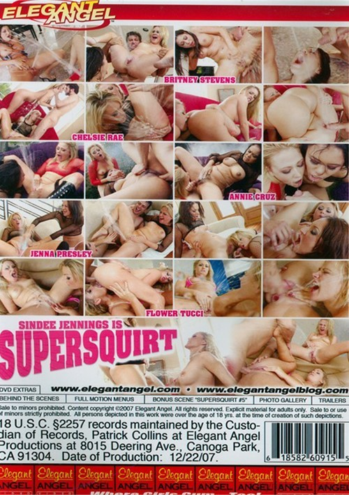 Sindee Jennings is Supersquirt