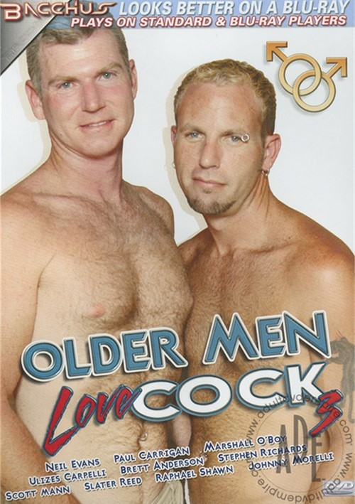 Two older gay men who love sex