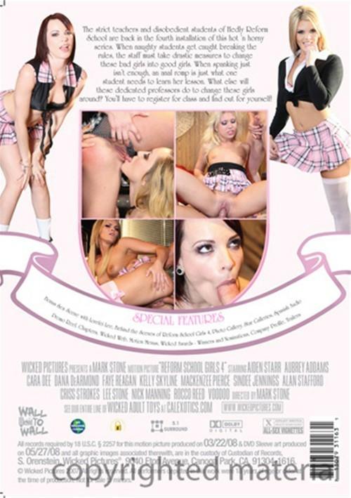 Reform School Girls 4 Boxcover