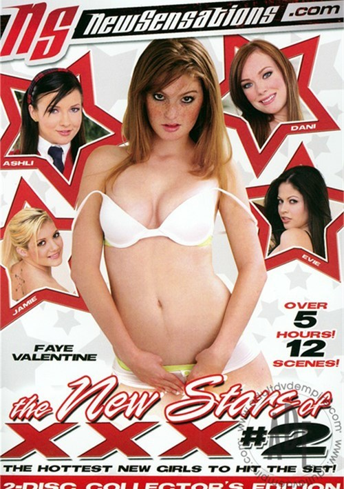 New Stars of XXX #2, The Boxcover