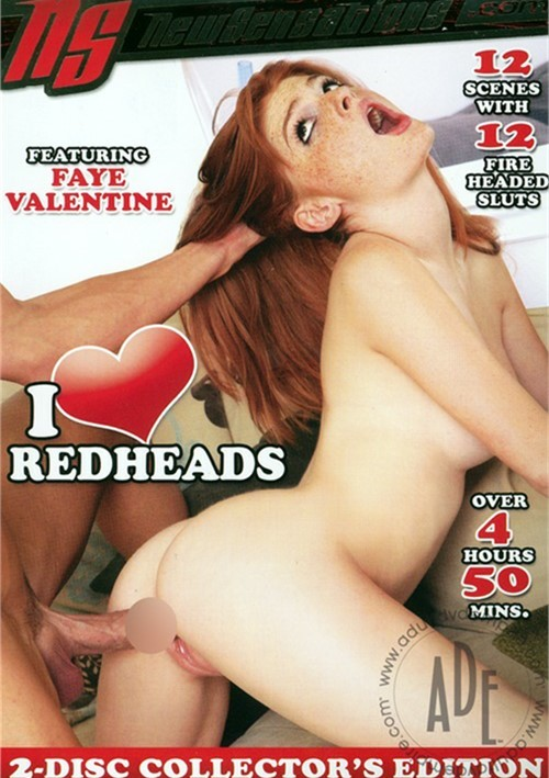 I Love Redheads Boxcover