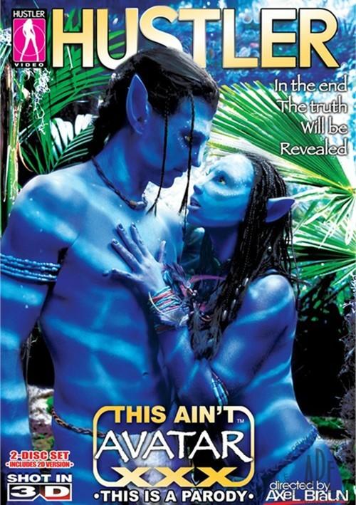 This Ain't Avatar XXX  3-D Boxcover