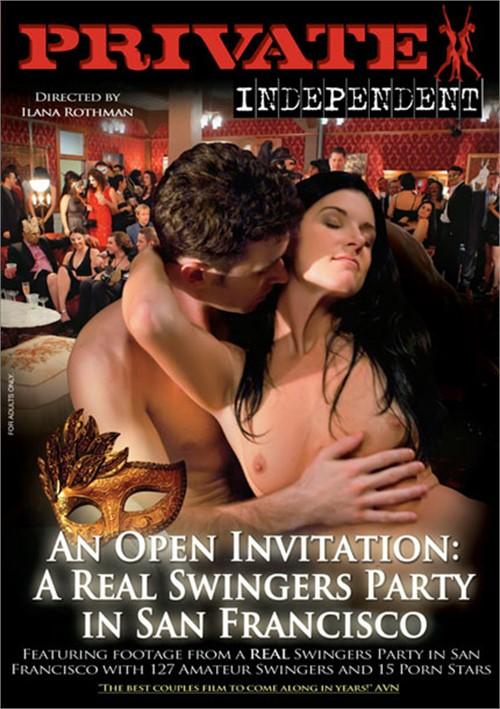 Порно кино групповая вечеринка в сан-франциско, сексуальная брюнетка с большой грудью делает минет