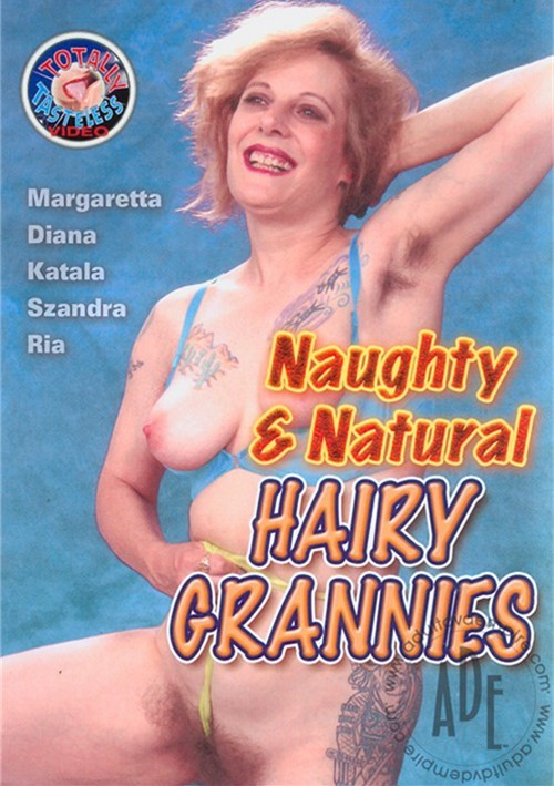 Naughty & Natural Hairy Grannies Boxcover