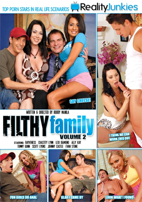 Filthy Family Vol. 2 Boxcover