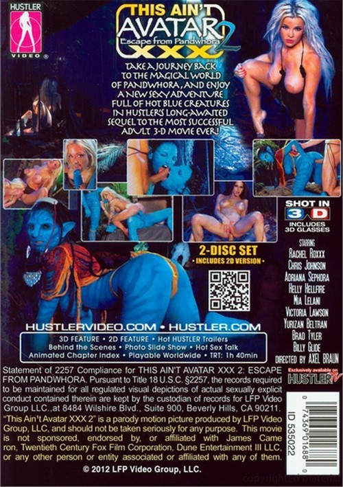 This Ain't Avatar XXX 2: Escape from Pandwhora (2D Version)