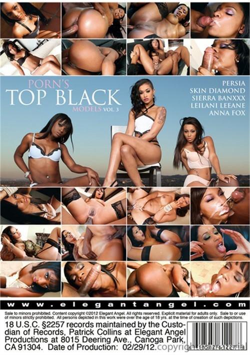 Porn's Top Black Models 3 Boxcover
