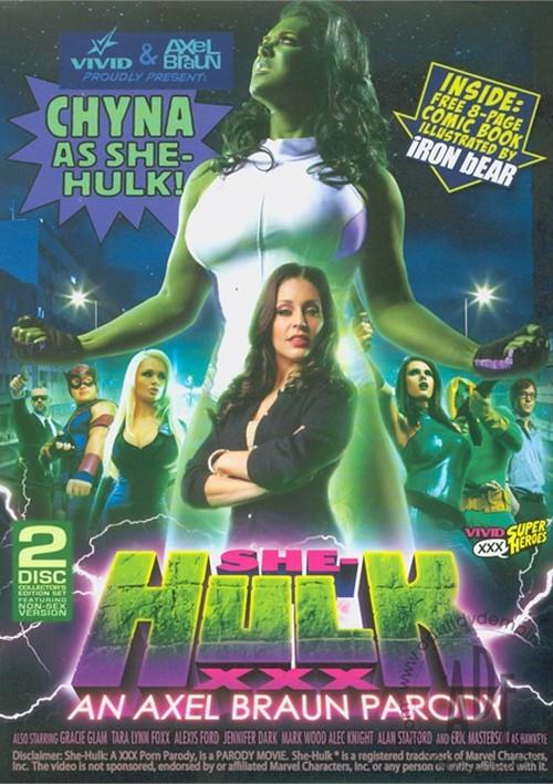 She-Hulk XXX: An Axel Braun Parody Boxcover
