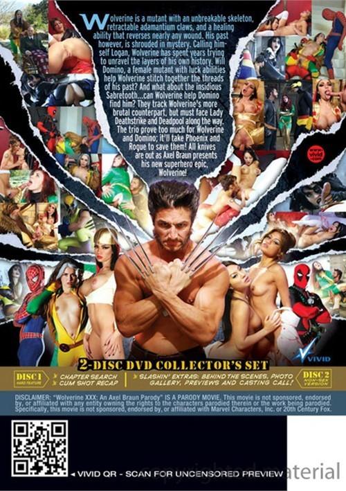 Wolverine XXX: An Axel Braun Parody Boxcover