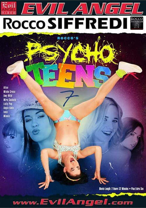 Rocco's Psycho Teens 7 Boxcover