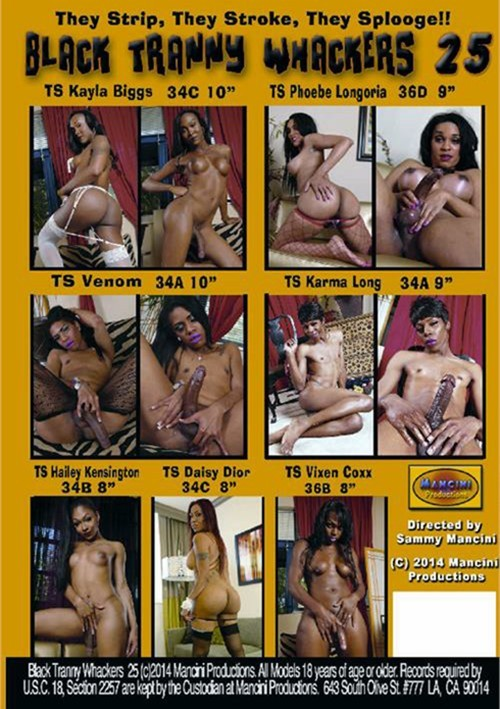 Black Tranny Whackers 25