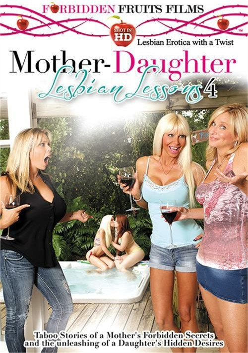 Mother-Daughter Lesbian Lessons 4 Boxcover