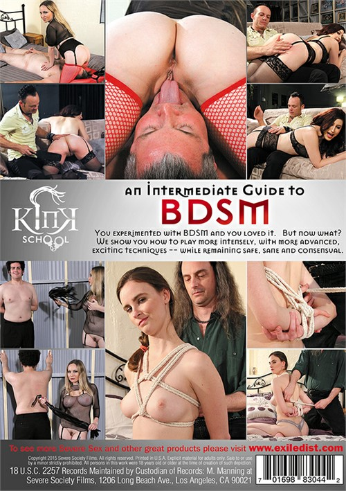 Kink School: An Intermediate Guide To BDSM Boxcover