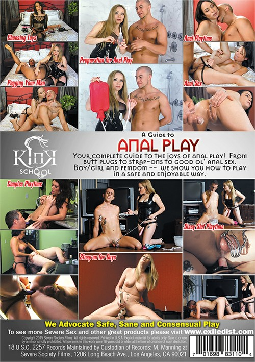 Kink School: A Guide To Anal Play Boxcover