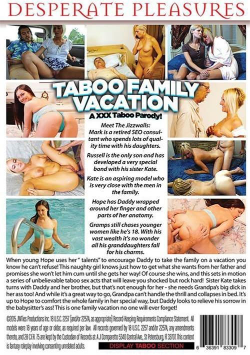 Taboo Family Vacation: An XXX Taboo Parody!