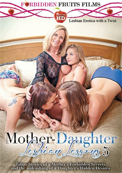 Mother-Daughter Lesbian Lessons 5 Boxcover