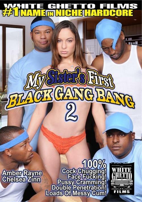 My Sister's First Black Gang Bang 2