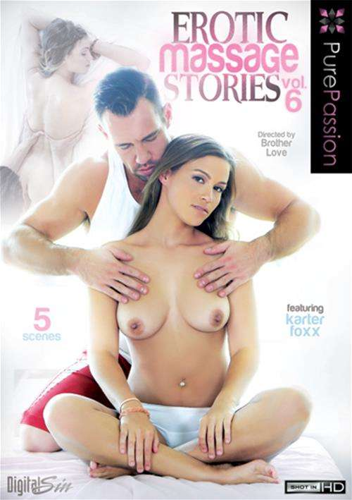 Erotic Massage Stories Vol. 6 Boxcover