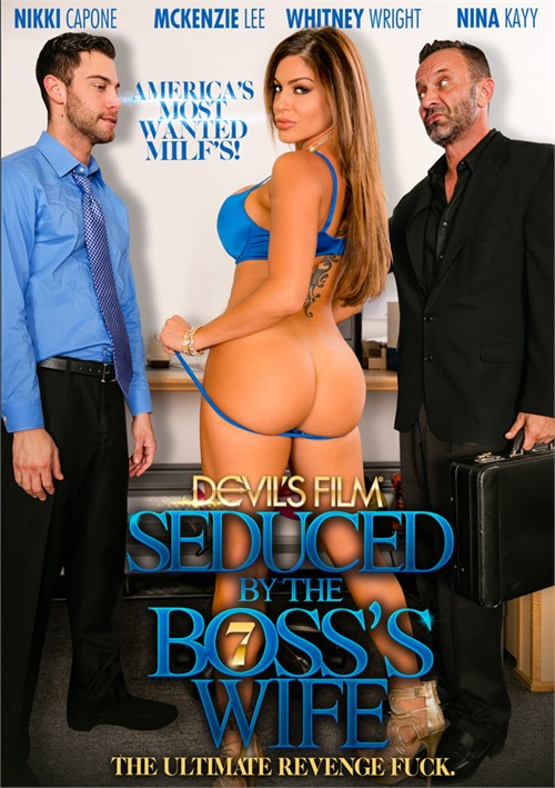 Seduced By The Boss's Wife 7 Boxcover