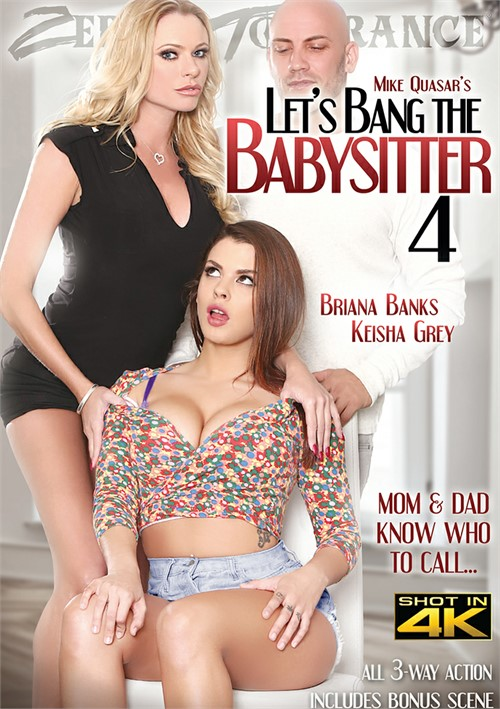 Let's Bang The Babysitter 4 Boxcover