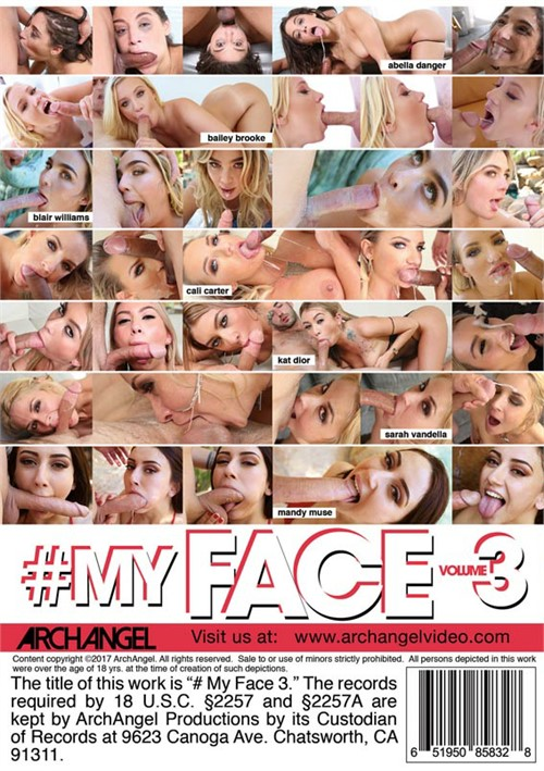 #MyFace Vol. 3 Boxcover