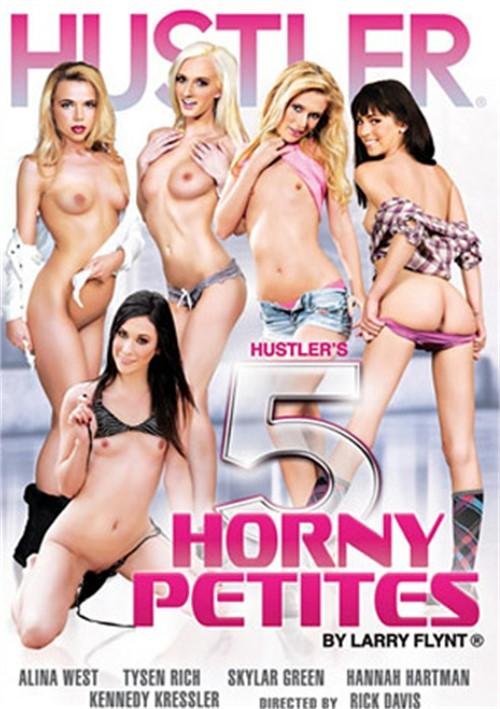 Hustler's 5 Horny Petites Boxcover