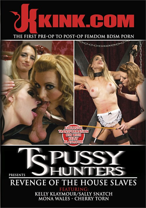 TS Pussy Hunters Presents Revenge Of The House Slaves Boxcover