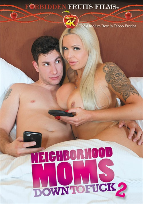 Neighborhood Moms Down To Fuck 2 Boxcover