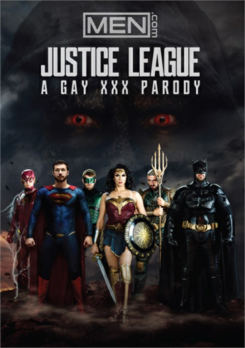 Justice League: A Gay XXX Parody Boxcover