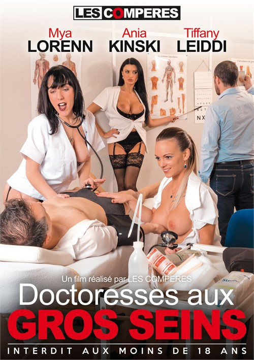 Busty Doctors (French) Boxcover