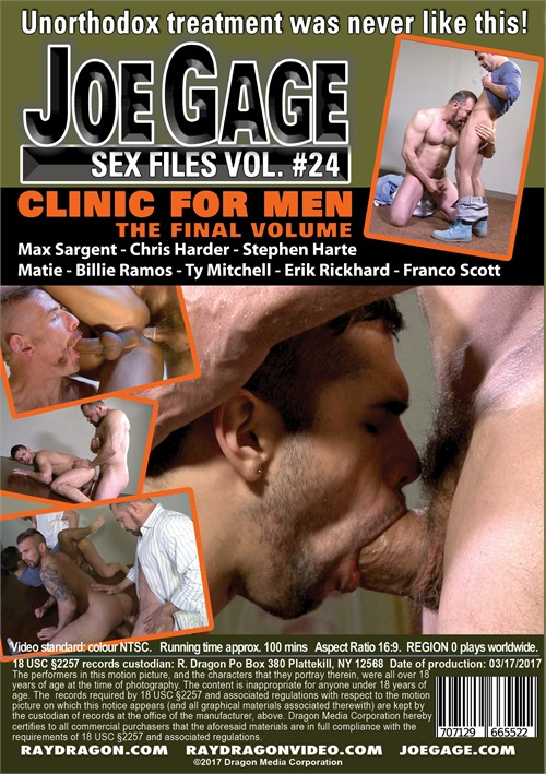 Joe Gage Sex Files 24: Clinic for Men