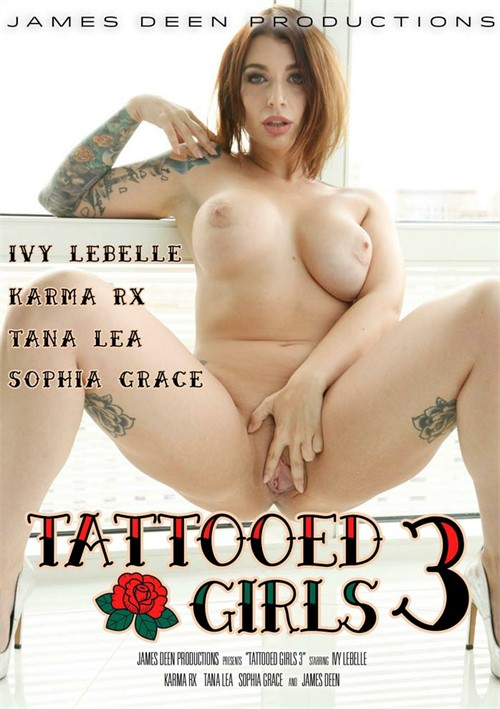 Tattooed Girls 3 Boxcover