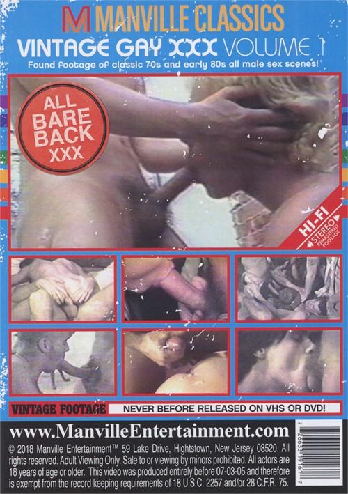 Vintage Gay XXX Vol. 1