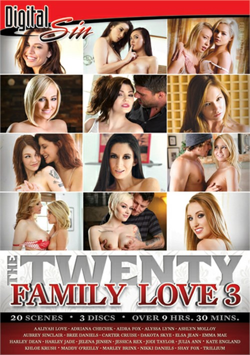 Twenty, The: Family Love 3 Boxcover