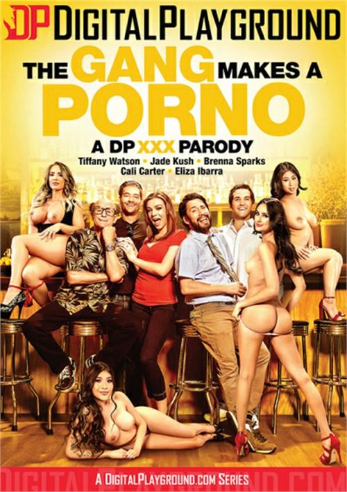 Gang Makes A Porno, The Boxcover