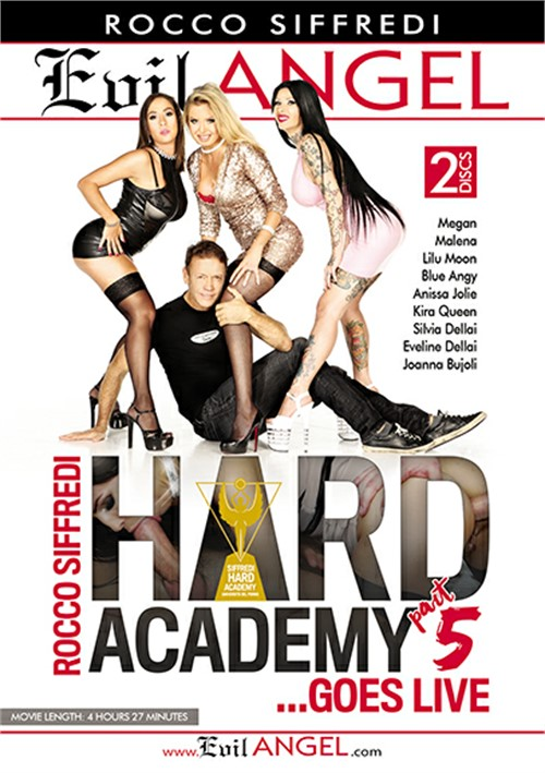 Rocco Siffredi Hard Academy Part 5 . . . Goes Live