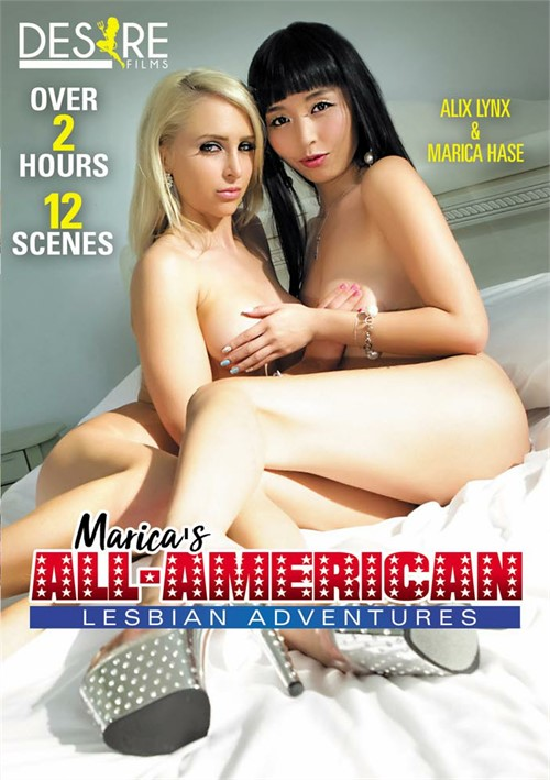 Marica's All-American Lesbian Adventures Boxcover