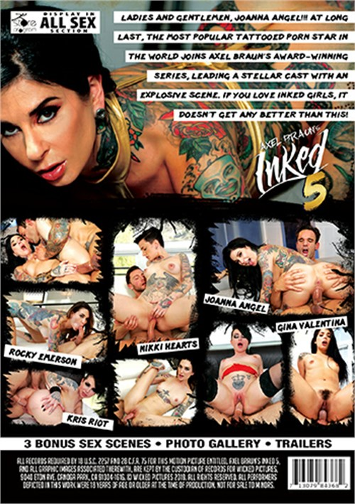 Axel Braun's Inked 5 Boxcover