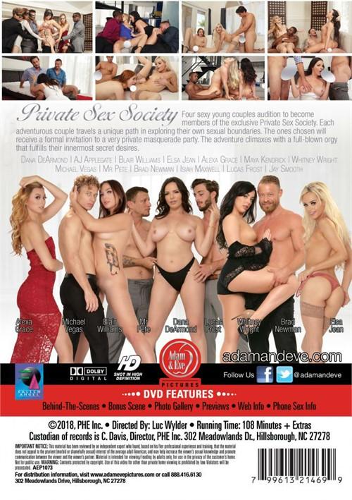 Private Sex Society Boxcover