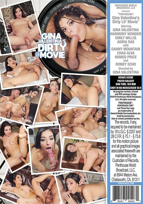 Gina Valentina's Dirty Lil' Movie Boxcover