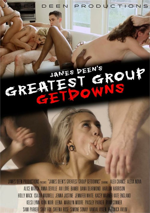 James Deen's Greatest Group Getdowns Boxcover