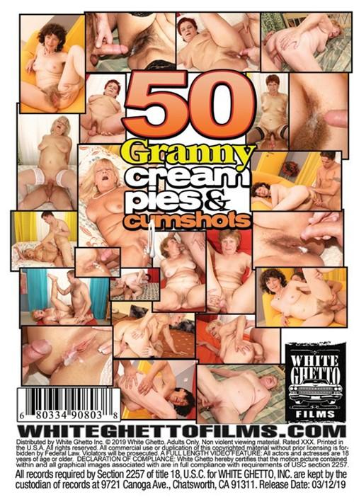 50 Granny Cream Pies & Cumshots
